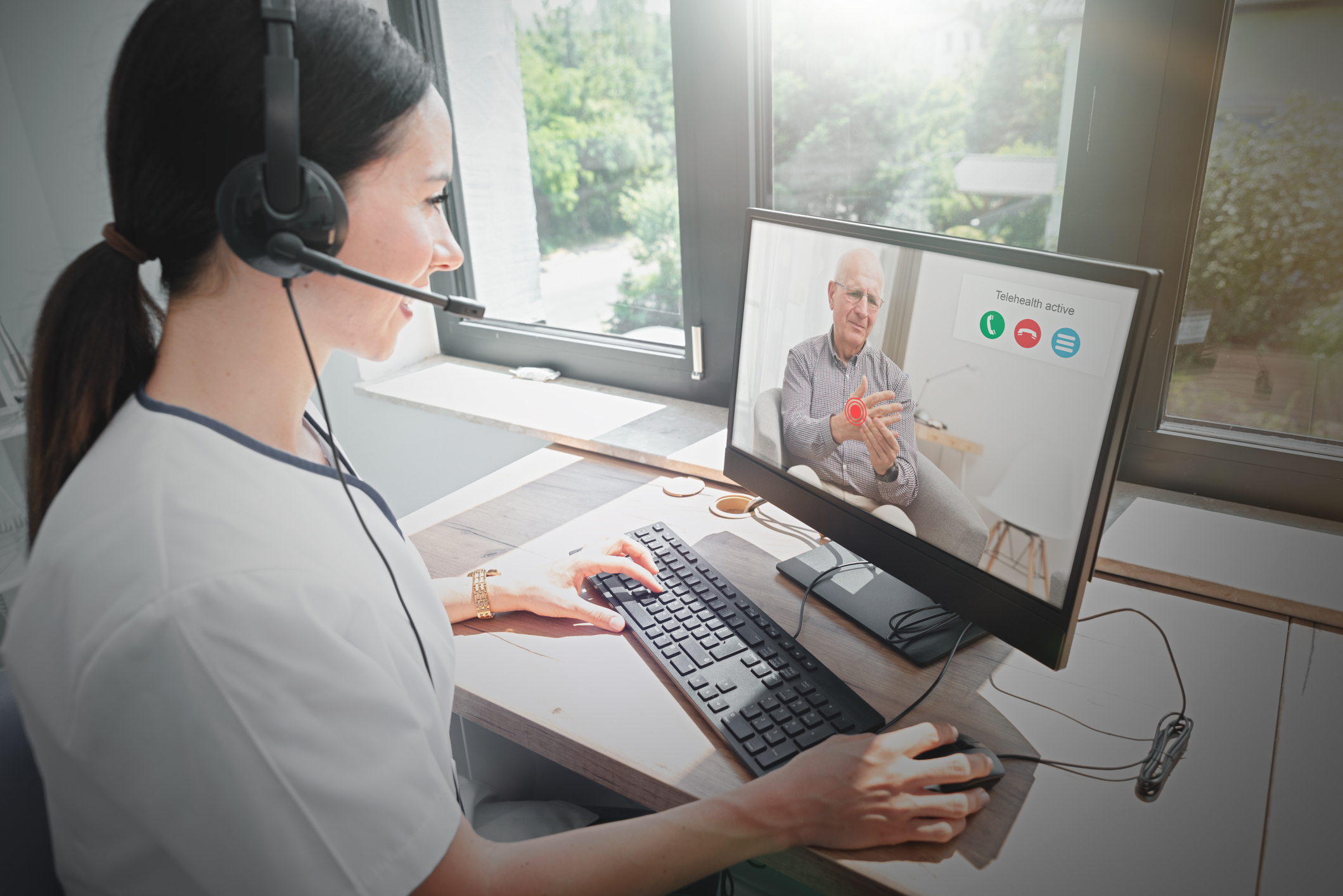 MDScripts integrated telehealth video conferencing
